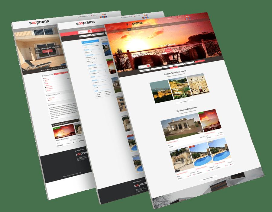 Administrar web inmobiliaria